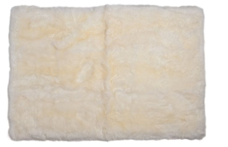 Auskin area rug in Ivory.   Perfect for the bedroom.