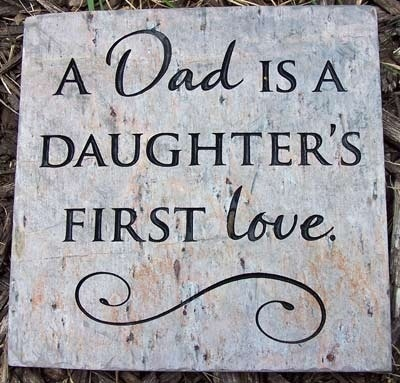 DAuGHterS FIRst LovE...perfect wedding gift for a dad
