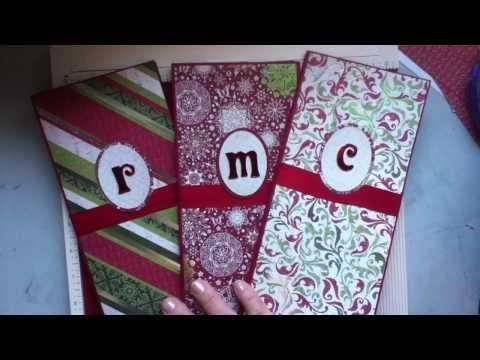 File Folder Christmas Planner - YouTube