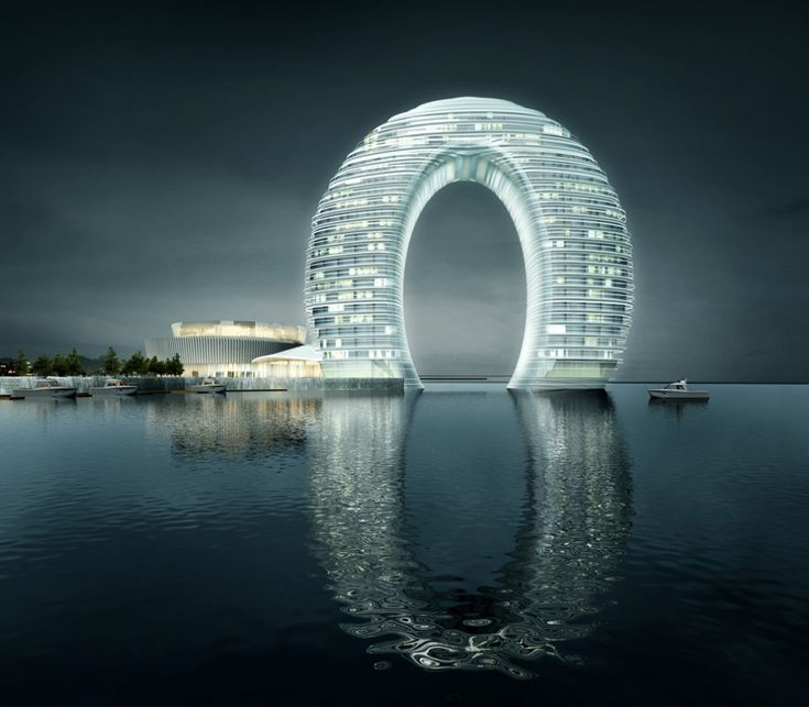 Sheraton Hotel in Huzhou  Hot Springs Resort on the banks of Lake Tai, China, MAD architects