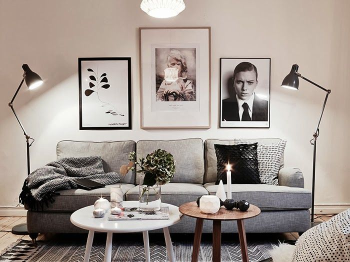 little town life: apartment in gloomy colors