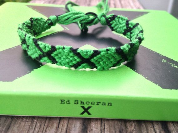 Ed Sheeran 'Multiply' Friendship Bracelet by WristsAre4Bracelets