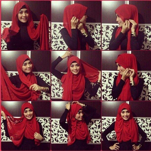 Stylish Hijab Tutorial