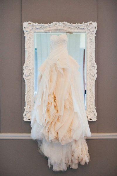 Vera Wang. #wedding #dress