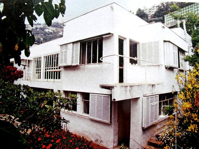 Eileen Gray designed E.1027  for herself and her then lover, art critic Jean Badovici.
