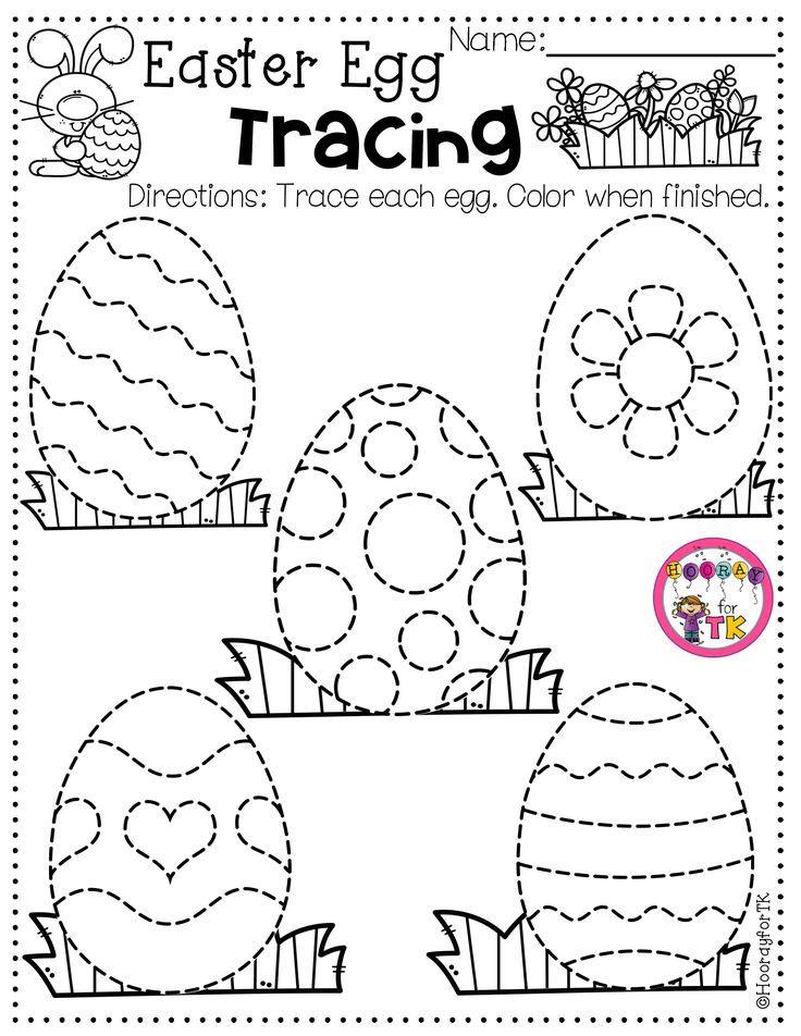Hooray For Tk Easter Worksheets Easter Kindergarten Easter Preschool Teaching easter for preschoolers