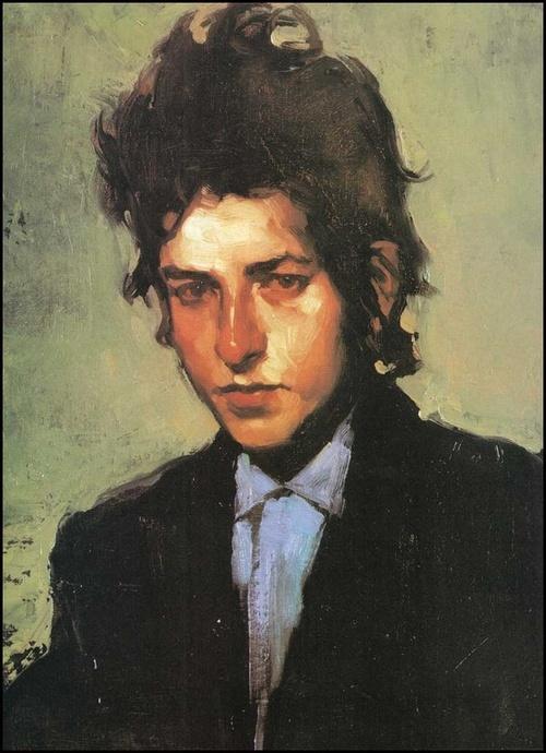 Bob Dylan by Malcolm Liepke