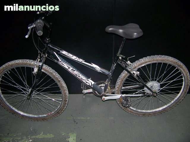 . Bicicleta BH supra negra monta�a femenina o para ni�@S de 10-15 a�os ideal Barra inclinada baja, color negro La bicicleta tiene uso pero se enceuntra en buen estado, tal y como se puede ver en las im�genes