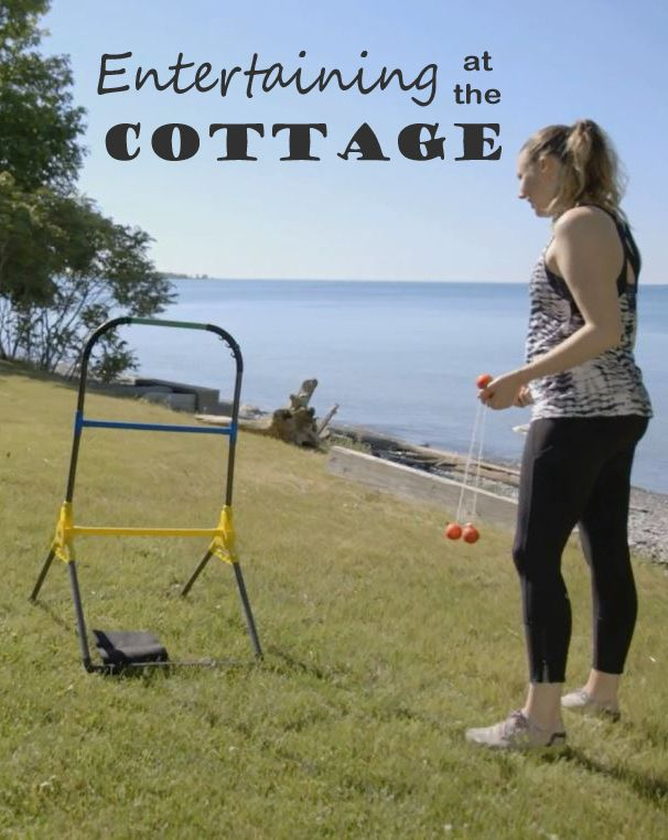 Here are a few things you might need when entertaining at the #cottage.