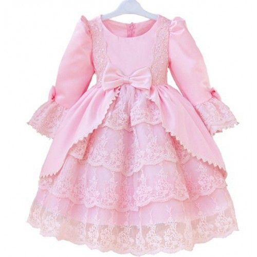 Designer Kids dresses light pink