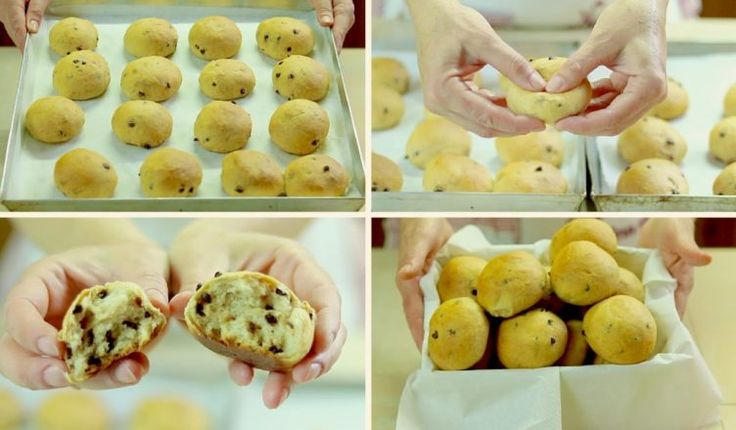 PANGOCCIOLI FATTI IN CASA RICETTA FACILE – Homemade Chocolate Chip Buns Easy Recipe