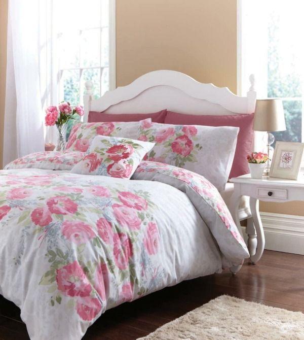Die besten 25+ Wände mit rosa akzent Ideen auf Pinterest Zimmer - vintage schlafzimmer einrichten verspielte blumenmuster als akzent