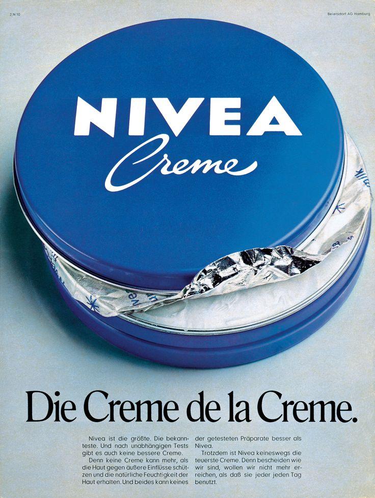 NIVEA Retroanzeige - 1970. #nivea #retro