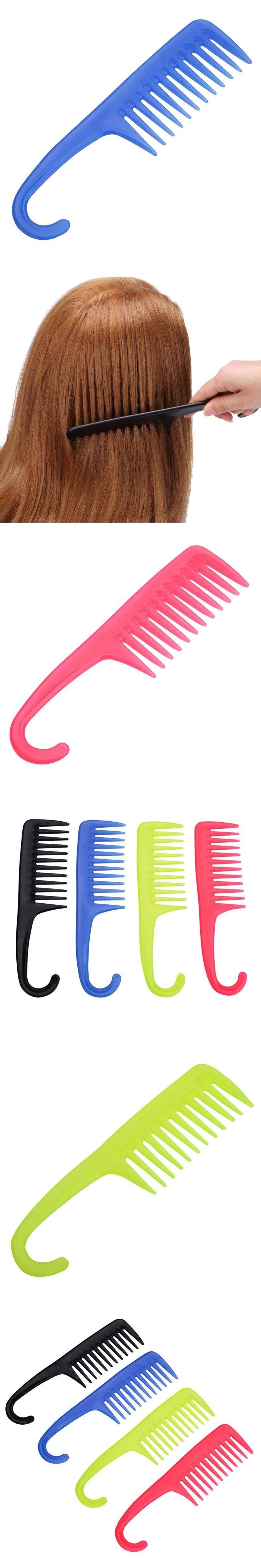 1PC Hair Styling Comb Set Professional Black Hairdressing Brush Salon Barbers detangling wig hair brush horn comb haarverf kam