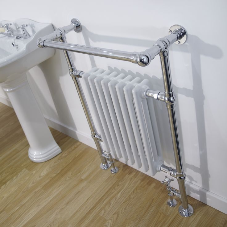 Love this period charm heated towel rail.