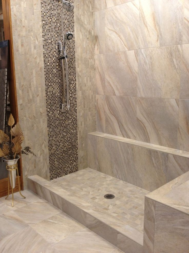 ragno tile Bathroom Modern with bench in shower Glass Mosaic Glass Tile