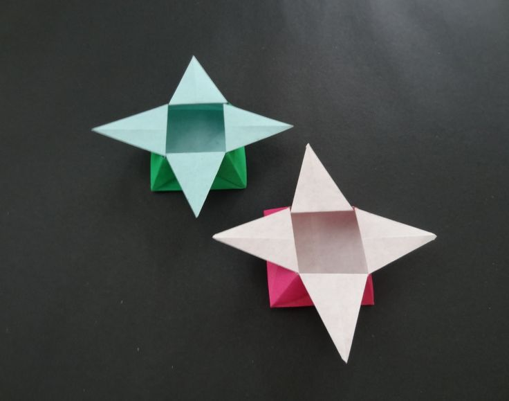 Pot Of Gold Origami Star Box Crafthubs Instructions Hexagonal Attractive