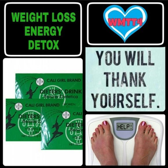 New Years Resolution! Lose weight fast! Get 4 boxes for $16 Cali girl tea~ Ingredients: Senna Leaf; 100% natural tea leaf. Contains no caffeine. No chemical additives. (Caffeine FREE) Cali Girl Tea is a 100% natural herbal beverage that enables you to lose weight and stay fit without dieting. You can have your regular meals and still lose weight. Cali Girl Tea removes excess fat deposits from the body. This product tells you that it will CLEAN YOU OUT... IT DOES THAT! Buy this stuff if you…