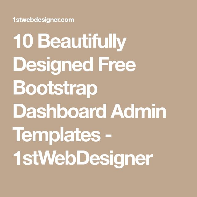 Best 25+ Free dashboard templates ideas on Pinterest Dashboard - free business report template