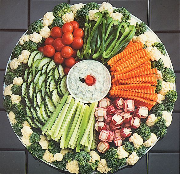 Fancy Veggie Trays | Need ideas for a beautiful veggie tray for Thanksgiving please.
