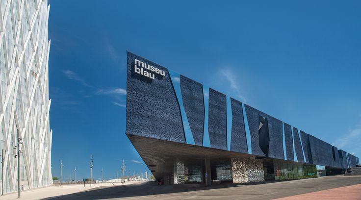 Museum Blau  Das Museu Blau ist das Museum der Naturwissenschaften von Barcelona