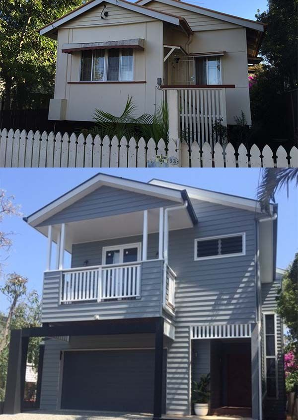 A stunning transformation of a home in Sandgate. Design by Focus Architecture.