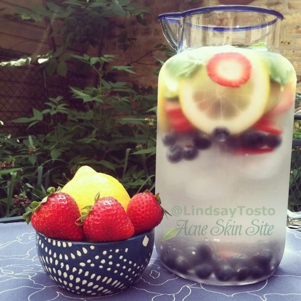 Acne Skin Site » The Power of Naturally Flavored Water