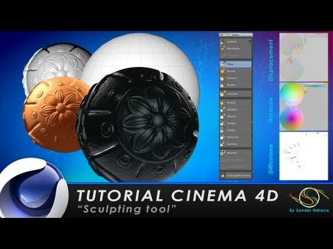 "▶ TUTORIAL CINEMA 4D ""Sculpting tools"" - YouTube"