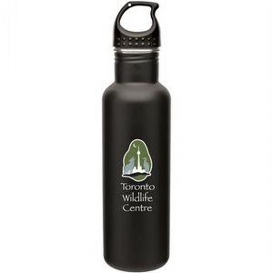 Custom Promotional Stainless Steel Bolt Bottle - 24 oz.