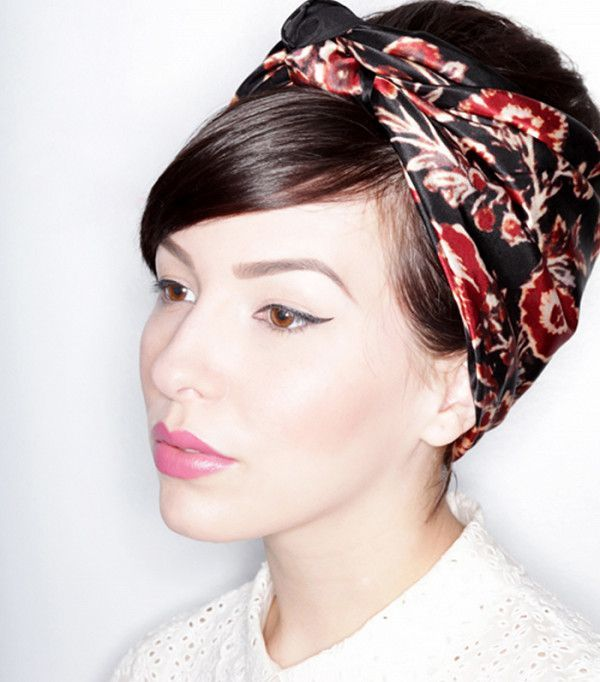 60 s hair styles best 25 scarf hairstyles ideas on 7966