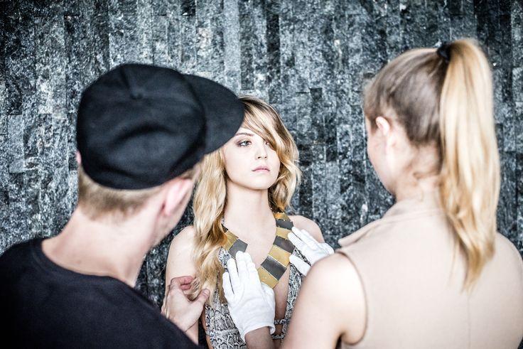Cooperation GIORRE & Polish fashion designer  Basia Olearka #Giorre #fashion #lookbook #basiaolearka #byligeza
