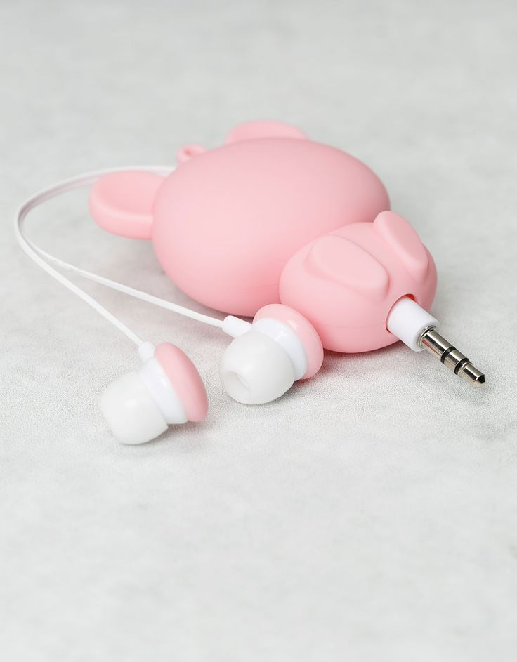Bear earphones. Discover this and many more items in Bershka with new products every week