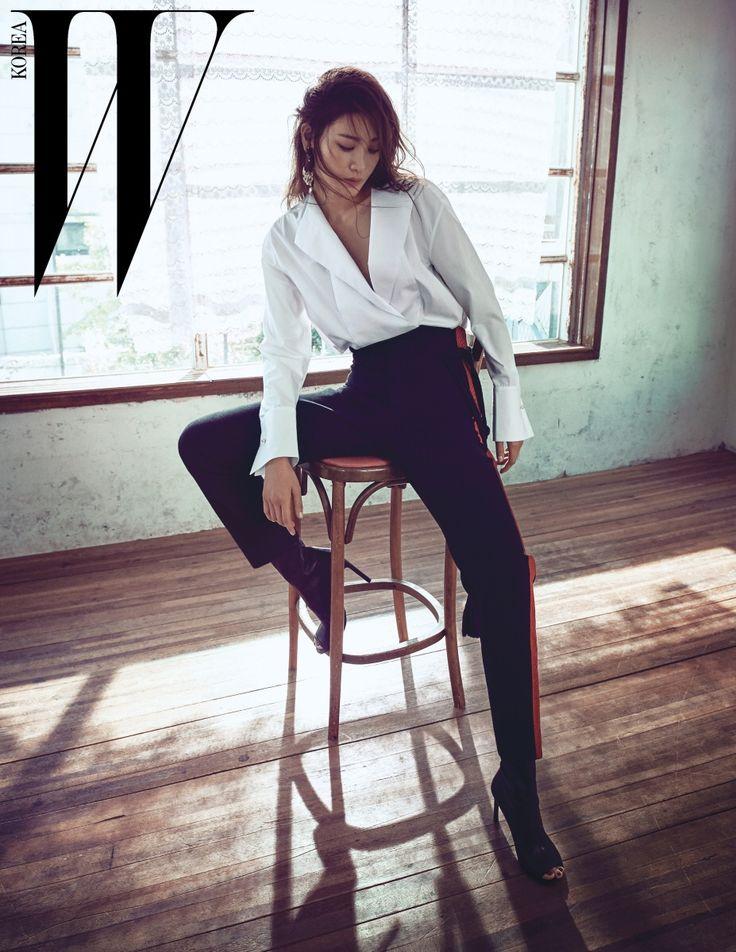 Style Korea: The Art of Korean Fashion • Claudia Kim for W Korea January 2016. Photographed... @blackswanballet