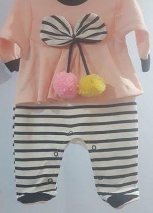 Kup mój przedmiot na #vintedpl http://www.vinted.pl/odziez-dziecieca/dla-niemowlakow-dziewczynki/16868253-pajacyk-z-pomponkami-3