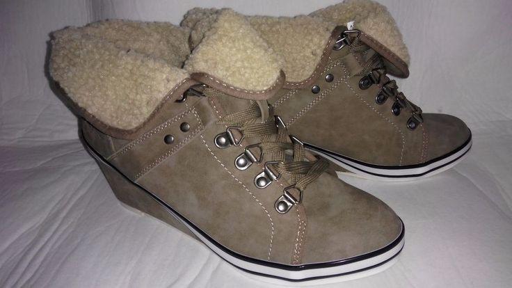 Arizona Ankle Boots Damen-Schuhe Stiefeletten Schnürsenkel Gr.40 Warmfutter in Kleidung & Accessoires, Damenschuhe, Stiefel & Stiefeletten | eBay!