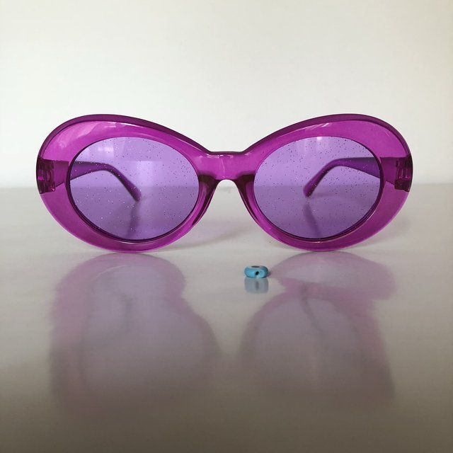 Limited Edition Clout Goggles Unisex 90s Oval Frame Kurt Depop Glasses Fashion Goggles Cool Kids Club