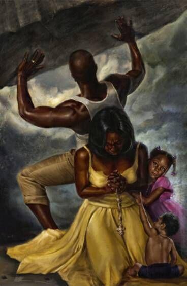 black art | gospel singers – gospel musical - 4 behind every great man