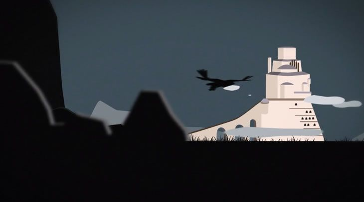 Animation : Séquence d'ouverture de Game of thrones - #Olybop