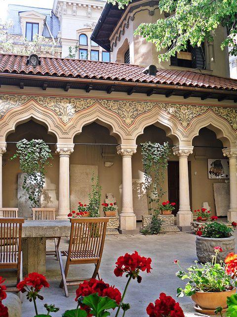 Biserica Stavropoleos - Bucharest, Romania