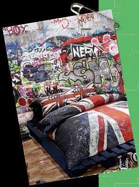 17 best ideas about punk bedroom on pinterest rock for Union jack bedroom ideas