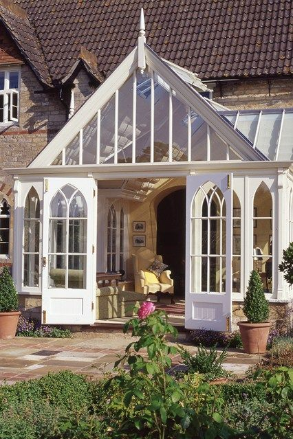 1000 images about enclosed porch conservatory for House plans with conservatory
