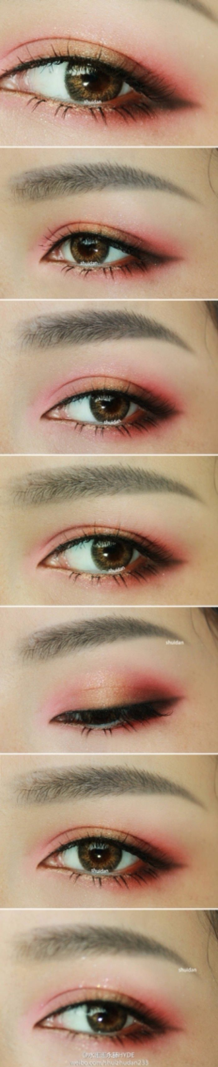 love the pink around the eye. feels very nocturnal woo