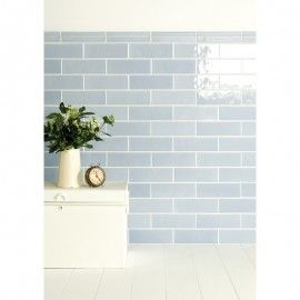 Artisan Elongated Brick Tiles by The Winchester Tile Company. Available at Welby & Wright.