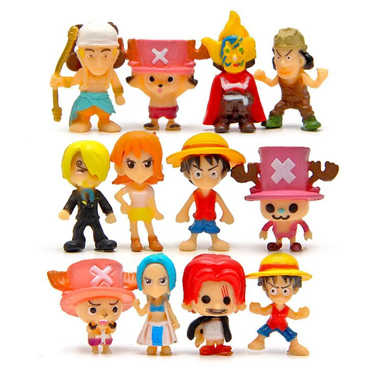 One Piece Figure  Zero Monkey D Luffy Brinquedos PVC Action Figure Toys Model Collection Kids Toys 12 Pcs/Set #Affiliate