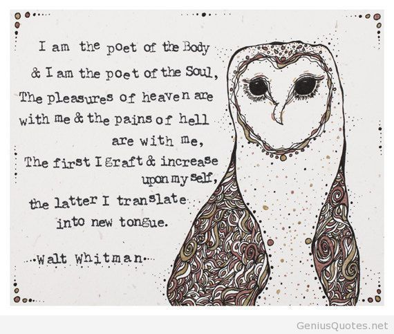 Walt Whitman Quotes Love: 1000+ Images About Inspiring Words, Fragments Of Poetry On