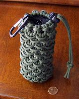 I share photos of my hobby with decorative and useful knot work, with paracord and other sizes/types of cordage and accessories.