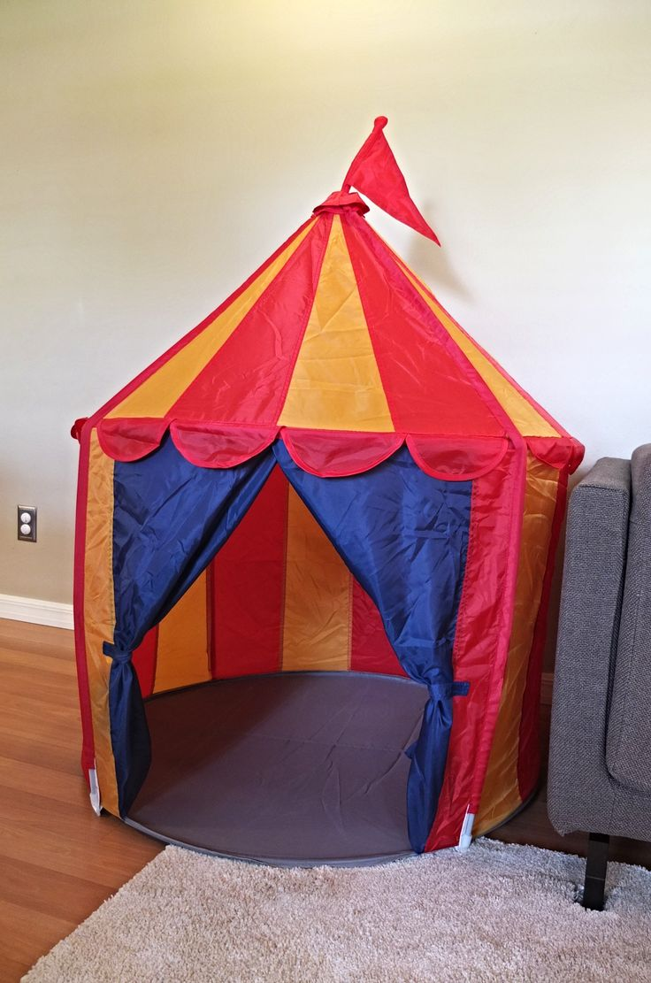 The CIRKUSTALT Play Tent Lets Children Have Fun At The