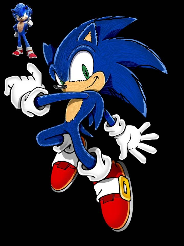 If Sonic Adventure 2 Used Sonic S Movie Redesign By Supermariomanuel On Deviantart Sonic Sonic Movie Redesign Sonic Adventure 2