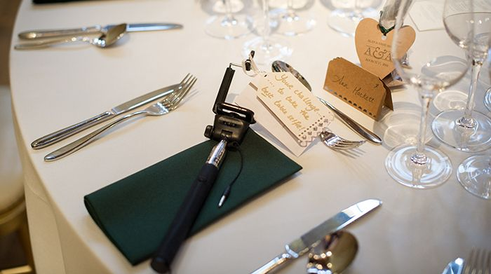 table set up and selfie sticks for wedding guests laurie gray imaging weddings pinterest. Black Bedroom Furniture Sets. Home Design Ideas