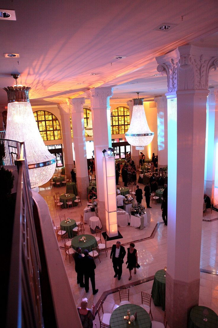 A View From Our Mezzanine In The Grand Atrium At One Of Corporate Events